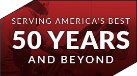 Serving America's best for 50 Years and Beyond